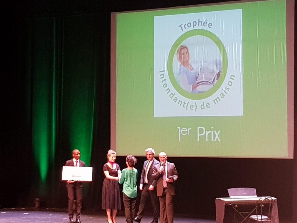 Trophée Intendante de maison 1er prix