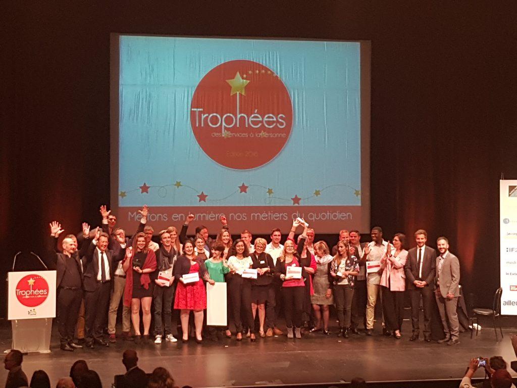 Lauréats Trophées des services à la personne