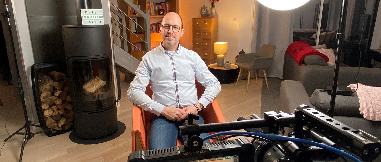 Bandeau article tournage plaies e-learning