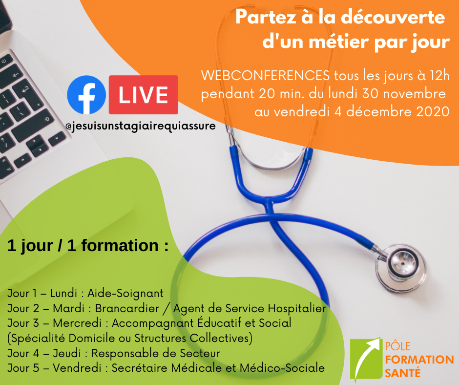 Semaine Facebook Live 1 jour=1 formation